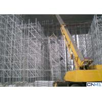 Quality Construction Lightweight Scaffolding Systems / Low Cost Scaffolding High Strength for sale