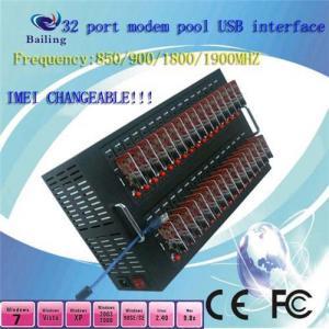 Quality USB 32 Ports GSM SMS MODEM POOL Q24plus (850/900/1800/1900Mhz) for sale