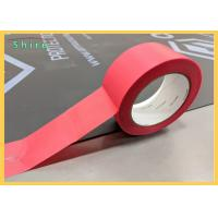 China Stucco Masking Tape Outdoor UV Stucco Masking Tape Red Stucco Tape for sale