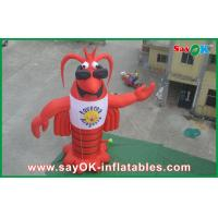 Buy cheap Lobster Inflatable Character , Customized Moving Inflatable Mascot from wholesalers