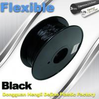 Quality 1.75mm / 3.0mm 3D Printing Rubber Filament Flexible Material Tasteless And Odorless for sale