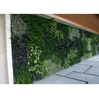 High Simulation Artificial Plant Wall Foam Backdrop Type Easy Maintain