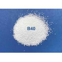 China High Efficiency Ceramic Bead Blasting B40 B20 Cleaning For Copper Pipes / Steel Pipes on sale