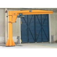 China BZD - 7t Free Standing Electric Jib Crane Use For Manufacture , Assembly Plant on sale
