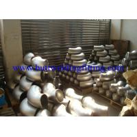 Quality ASTM A815 UNS S32750 / UNS S32760 Super Duplex Stainless Steel Elbow 45 Deg / 90Deg for sale