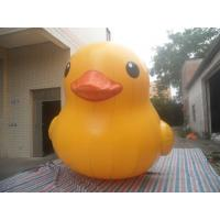 Quality Commercial Show Airtight Inflatable Duck Cartoon For Water Games EN14960 EN71 for sale