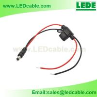 Waterproof In-Line Blade Fuse Holder with DC Connector For motorcycle accent LED light for sale