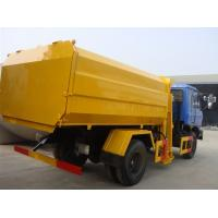 Buy dongfeng 4*2 12 cubic meters side loader garbage truck for sales at wholesale prices