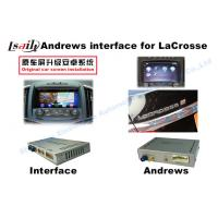 Quality Wifi TV GVIF Interface Car Video Interface For Opel / Buick / Regal / Lacrosse for sale