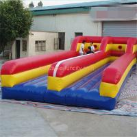 Quality Moveable Inflatable Sports Games , Inflatable Bungee Run eco-friendly for sale