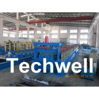 Quality Steel Structure Floor Deck Roll Forming Machine for Roof Deck, Steel Tile TW-FD1250 for sale
