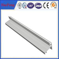 Quality customized extruded aluminium enclosure cleanroom t shape extrusion profile for sale