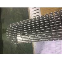 Quality 2 Meters Five Axis CNC Milling Aluminum Heat Sink Profiles for Colling System for sale