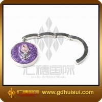 Quality round cute steel table bag hanger for sale