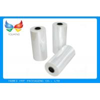 Quality 78% Transparent PETG TDO 45mic HS Shrink Sleeve Labeling Film Rolls For Bottle for sale