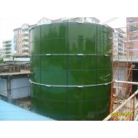 Quality Stable Glass Lined Steel Tanks For Landfill Leachate Storage / WWTP / Biogas Plant for sale