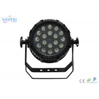Quality Gradual Change LED Par Stage Lights With Sound Actived Operation Mode for sale