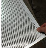 Buy cheap Stainless steel Perforated Sheet Perforated Metal (ceiling/filtration/sieve from wholesalers