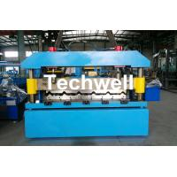 Quality Automatical Steel Roof Wall Panel Roll Forming Machine With 13 - 20 Forming Station for sale