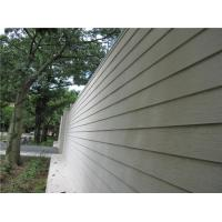 Quality Fiber Cement Composite Wood Siding Panels , Smooth Cement Fiber Clapboard Siding for sale