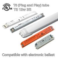 13W Fluorescent Led Tube Replacement, SMD Led T8 Fluorescent Replacement Tubes for sale