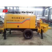 China Mobile Concrete Pump And Mixer With Electric Motor Concrete Pump 2000kg Total weight on sale