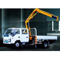 China Durable Commercial Knuckle Boom Truck Mounted Crane , 3200kg 6.72 T.M Lifting on sale