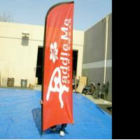 Quality Aluminum cross beach falg base , double sided feather flags , printed feather flags for sale