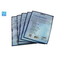 Buy Blue Foil Plastic Printed Laminated Pouches Waterproof For USB Cables at wholesale prices
