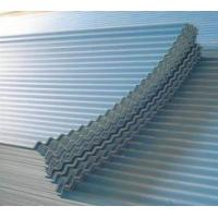 Quality SGCC,DX51D, ASTM Zinc Coated Corrugated Roofing Sheet With PE / PVDF / PVC Guard Film for sale