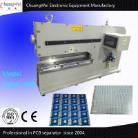 China Two Japan Linear Blade v-cut  Pcb Depaneling For Rigid Thickness Pcb on sale