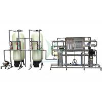 Quality 2TPH RO Water Treatment System Plant For Irrigation / Drinking RO Filter System for sale