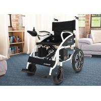 Quality Shock Absorbing Electric Folding Wheelchair For Travelling / Home / Hospital for sale