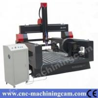 Quality 4th axies 800mm Z axies stone cnc router ZK-1318(1300*1800*800mm) for sale