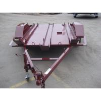 Quality 6x4 Tandem Flatbed Trailer For Two Motor Bike Transport Australian Style for sale