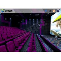 Quality Cinema 3d Film Sound Vibration Movie Theater Seats With Epson Projector for sale