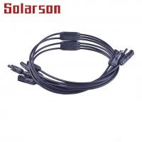 China 1000V DC MC4 Y-Branch solar connector 30A for sale