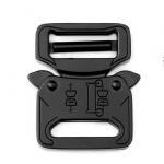 Quality Cobra buckles Metal Belt Buckle 27mm Black Color For Tactical Belt for sale