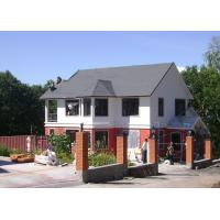 Quality Modular Light Galvanized Steel Structure Villa Built In Russia ISO SGS Approved for sale