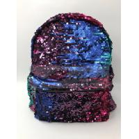 Buy cheap Women Polyester Laptop Bag Dazzling Sequin Backpack With Sequin Material from wholesalers