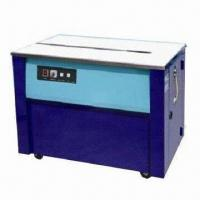 China High Desk Strapping Machine with 250W Power and 220V Voltage on sale