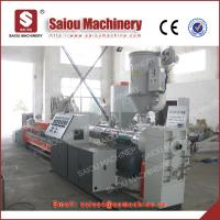 Quality single wall corrugated pipe production pe corrugated pipe production line for sale