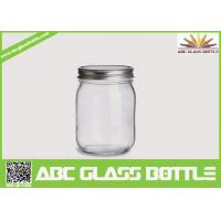 Quality Hot sales mason jars 16 oz glass jars for sale