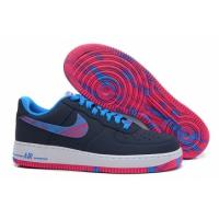 China sportsyyy.cn  Nike Air Force I Low Black Blue Shoes on sale
