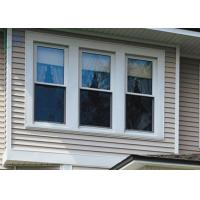 Quality Smooth Moving Aluminium Double Hung Windows Unique Stabilising Roller System for sale