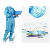 Quality Antivirus Disposable Medical Protective Clothing , Medical Protective Coverall for sale