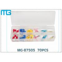 Quality 70PCS  Terminal Assortment Kits for  FDD Quick Disconnects with avarious colors ,CE certificated for sale