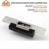 Quality Wide Face Door Electric Strike Lock Access Control With Fail Secure Or Fail Safe Function for sale