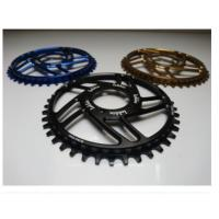 Quality 7075-T6 Aluminum Color Anodized Race Face 104mm Single Chain Ring 4mm Plate Thickness for sale