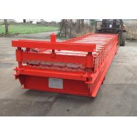 Quality Wall Roofing Sheet Roll Forming Machine IBR Galvanized Steel 18 Stations for sale